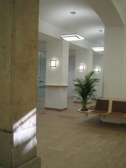 RECONSTRUCTION OF SERVICE CENTER JUSTICE, REGIONAL COURT LINZ